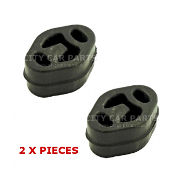 2 X FORD COUGAR FIESTA GALAXY MONDEO EXHAUST RUBBER MOUNT HANGER MOUNTING EMR050